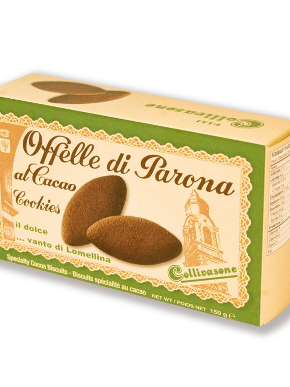 Offelle al cacao - Scatola 150 gr